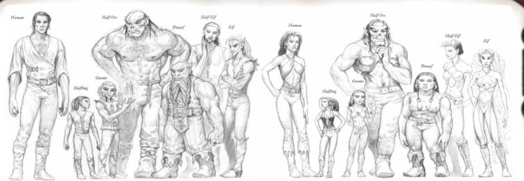 Male & Females